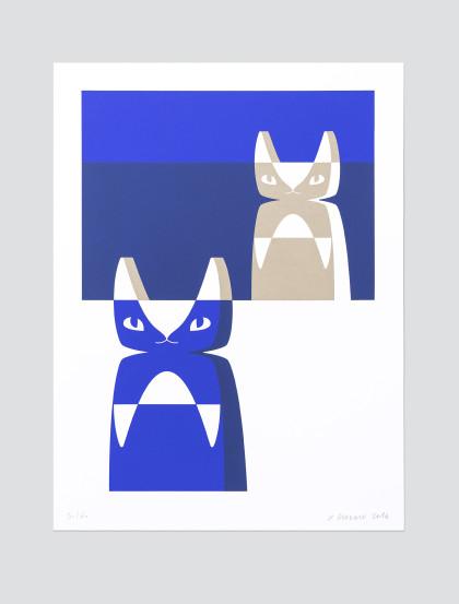 wood_cat_blue_silkscreen